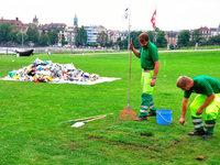 Basel kämpft gegen die Verwahrlosung der Parks in der Stadt