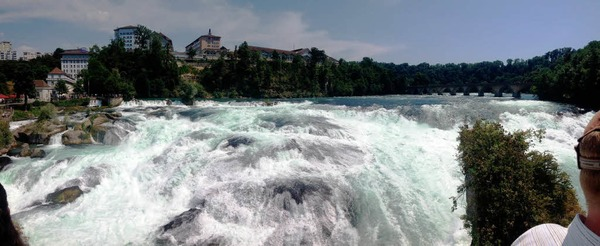 Impressionen von der <?ZP?> BZ-Wanderung zum Rheinfall in Schaffhausen mit <?ZP?> Hans Loritz.
