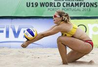 Die Löffingerin Lara Schreiber bei der U-19-WM