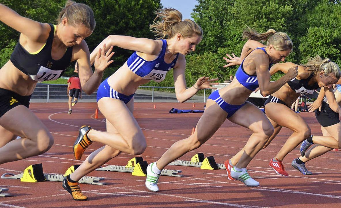 Nicht nur die 100-Meter-Sprinterinnen ... Freitag wieder aus den Startblöcken.   | Foto: Roman Daudrich