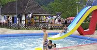 Zwei Tage im Schwimmbad