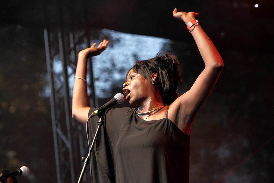 Sommer, Sonne, Samba: Impressionen vom ersten Tag des African Music Festivals (Foto: Patrik Müller)