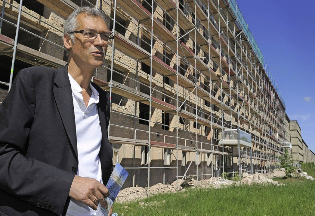 "Investor Axel Bering: Er nennt sein Projekt ""Meeressinfonie""  | Foto: DPA"