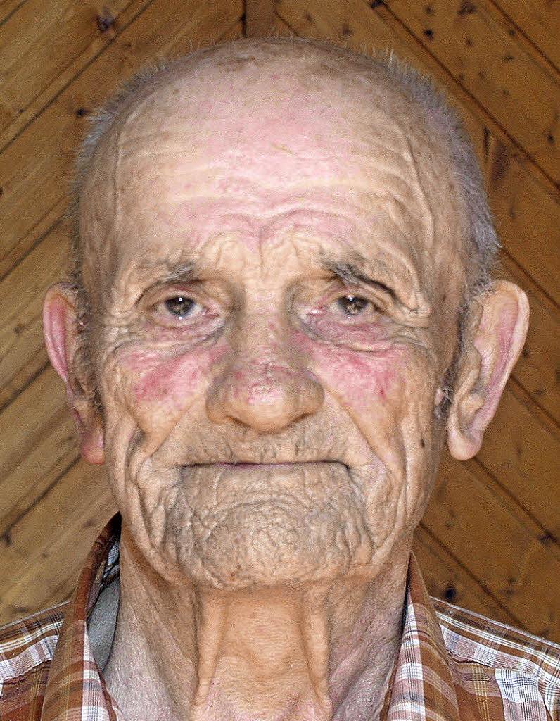 <b>Fritz Bühler</b> feiert heute in Tannenkirch den 90. Geburtstag. Foto: cre - 74221081