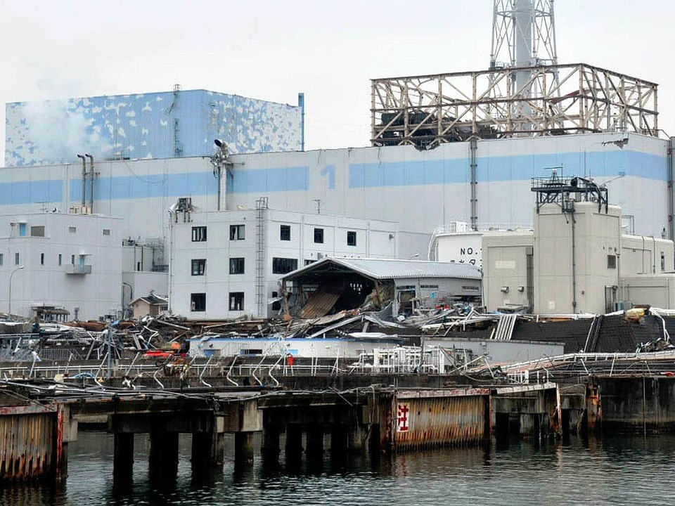 Die Atomruine Fukushima kommt nicht zur Ruhe.  | Foto: dpa