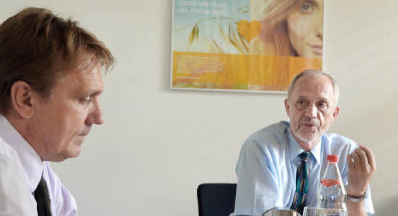 BASF-Schweiz Sanierungschef Günter Fri... Kesslergrube die beste Variante ist.   | Foto: Ralf H. Dorweiler