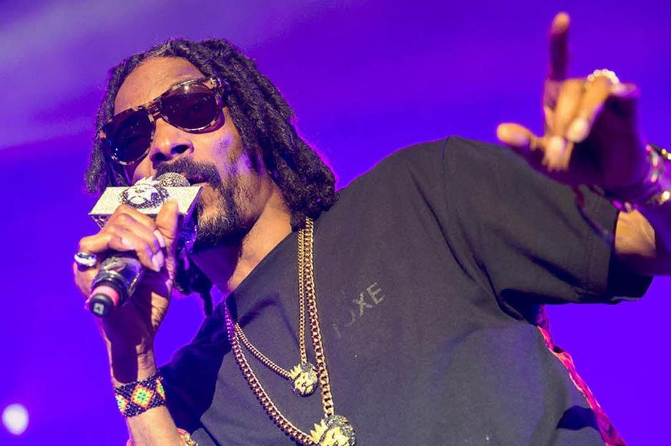 Snoop Dogg aka Snoop Lion bei der Foire aux Vins in Colmar (Foto: Benoit Facchi )
