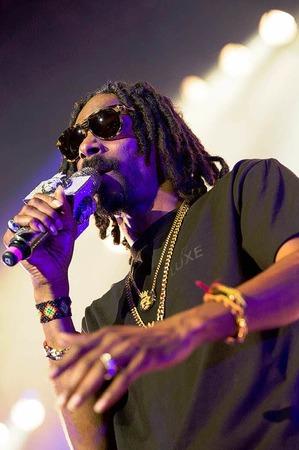 Snoop Dogg aka Snoop Lion bei der Foire aux Vins in Colmar
