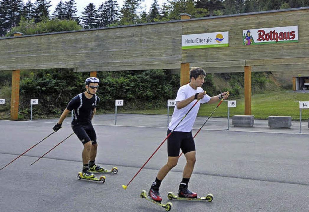 Das Biathlonzentrum am Notschrei  biet... im Sommer gute Trainingsbedingungen.   | Foto: Mochael Bamberger