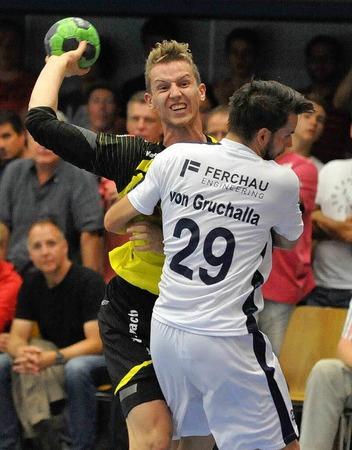 Keine Chance, aber ein tolles Erlebnis für alle Beteiligten: Die SG Köndringen-Teningen zu Hause im DHB-Pokal gegen Gummersbach.