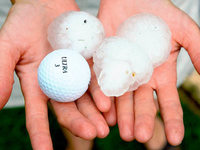Hagelsturm hat h�chsten Schaden seit Orkan Lothar angerichtet