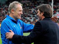 Video: SC-Coach Streich �ber Labbadia, Hertha und die Medien