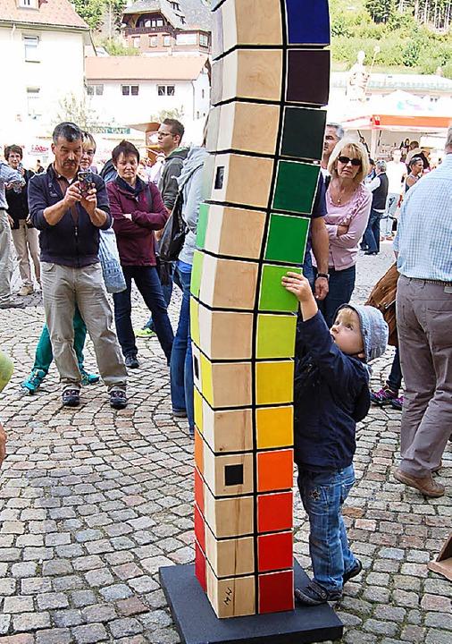 Nicht nur bei Kindern beliebt: die &#8...rn das Geld aus der Tasche zu locken.   | Foto: Claudia Renk