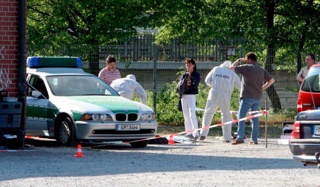 Heilbronn, 25. April 2007: Ermittler s...rio des NSU fanden sie keine Hinweise.  | Foto: DPA