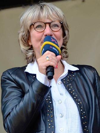 Moderatorin Petra Klein führte durch die Pfännle-Show.