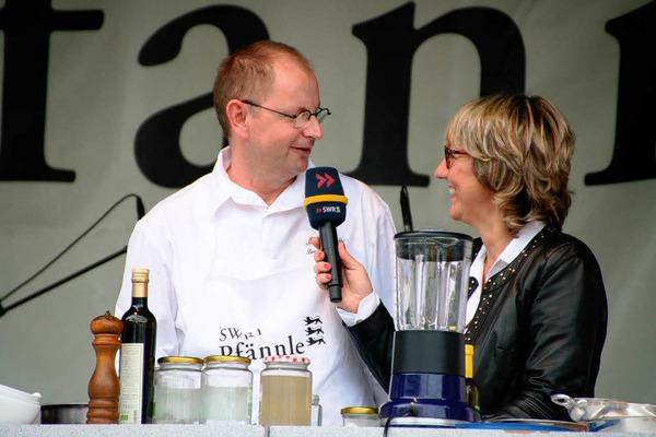 SWR 1 Pfännle: Kochshow mit Hanspeter Rombach vom Hotel Restaurant Sonne in Sankt Peter