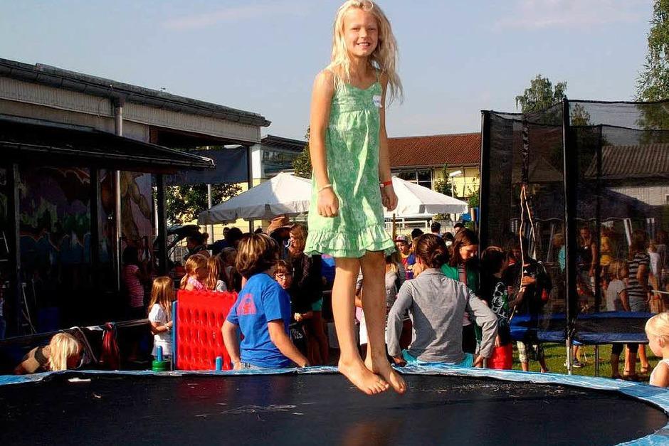Für Kinder war beim Ferienclub der AB Gemeinde Steinen eine Menge geboten (Foto: Heiner Fabry)