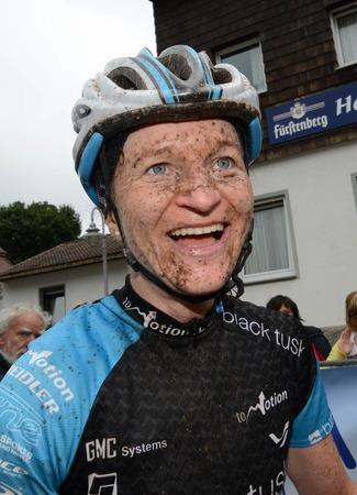 Andrea Meier, Siegerin über 120 Kilometer