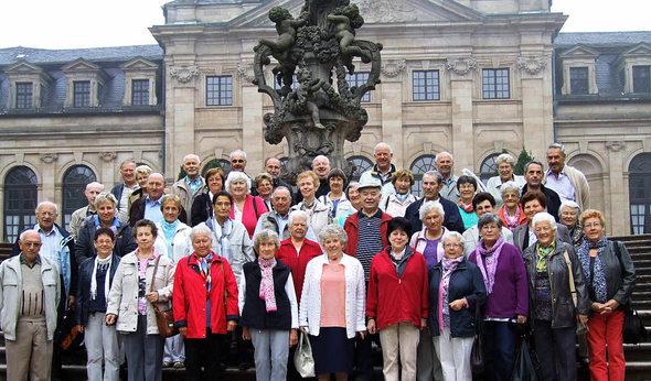 In die Bischofsstadt Fulda fuhren 45 ...n des Heiligen Bonifatius zu ...