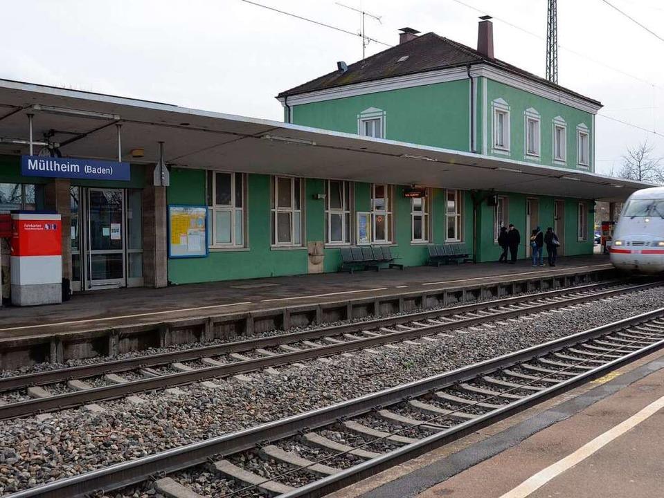 Der Müllheimer Bahnhof.  | Foto: Andrea Drescher