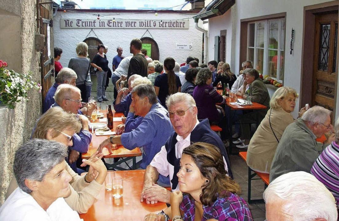 Feiern in Nischen und Schöpfen –...rfest bietet ein besonderes Ambiente.   | Foto: Musolt