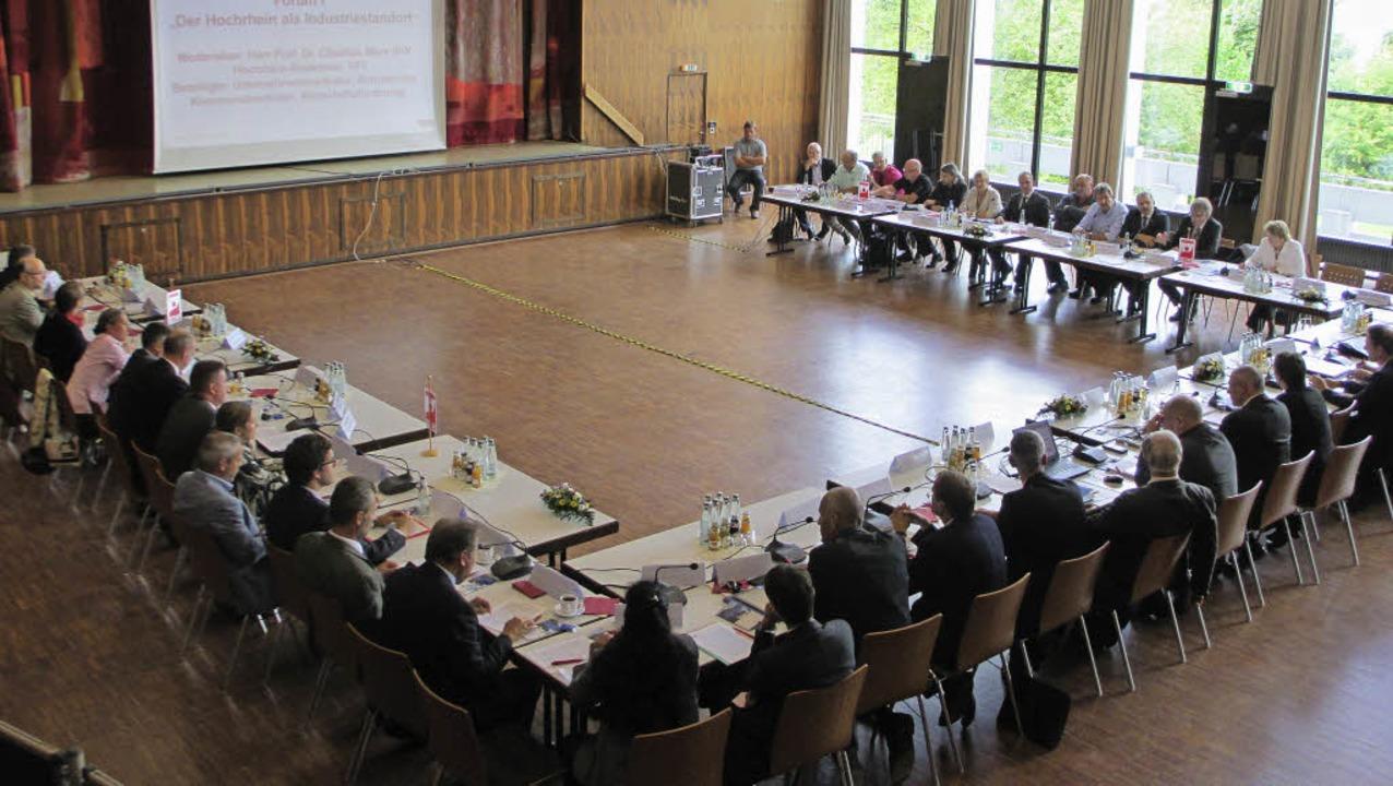 Mehr als 50 Teilnehmer kamen zur Auftaktveranstaltung.   | Foto: Axel Stefan Sonntag/IG BCE