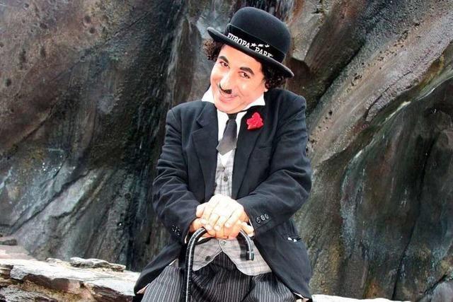 Seit 27 Jahren kopiert ein Schweizer den Charly-Chaplin im Europa-Park