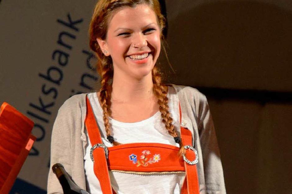 Beim Dirndl- und Lederhosenwettbewerb letzten Freitag in Auggen war gute Stimmung. (Foto: David Rieflin)
