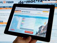 Wie präsentieren sich die Parteien im Internet?