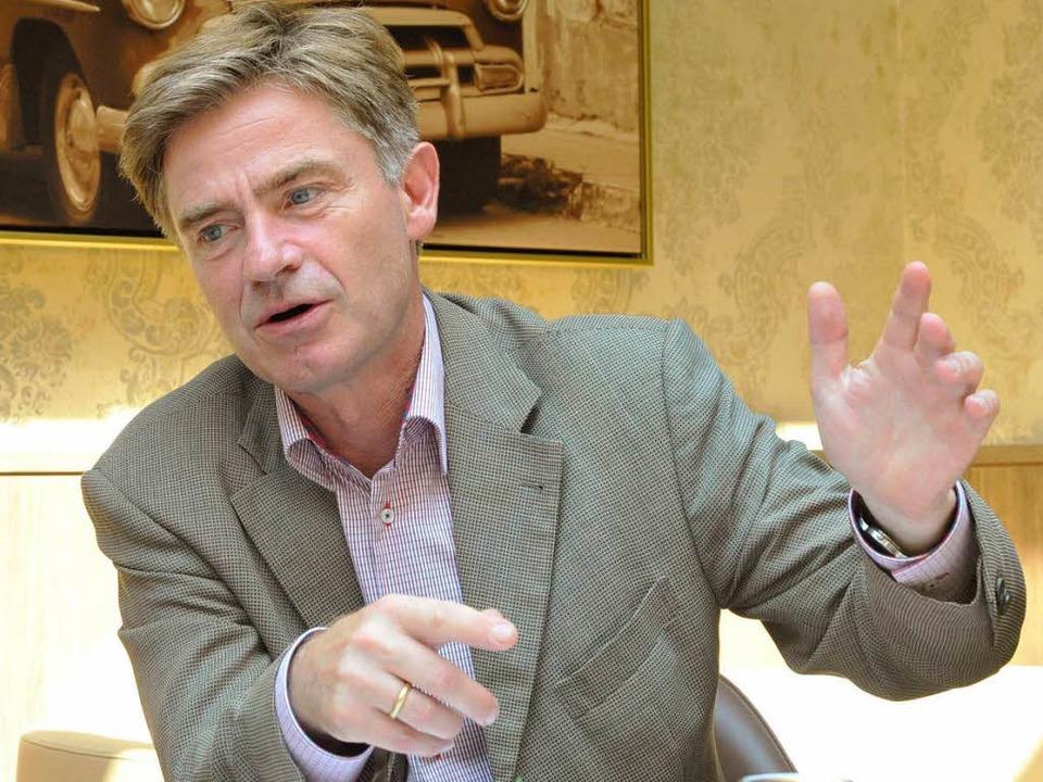 Will für die CDU den Wahlkreis zurückerobern: Matern von Marschall.  | Foto: Michael Bamberger