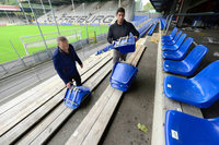 Das SC-Stadion ist bereit f�r den europ�ischen Fu�ball