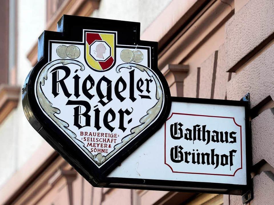 Hier wird kein Riegeler mehr gezapft. ...of in Freiburg wird ein Co-Work-Space.  | Foto: Ingo Schneider