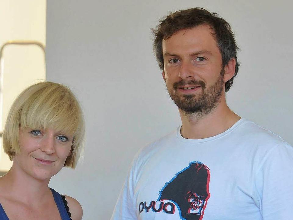Martina Knittel und Hagen Krohn, die neuen Grünhof-Geschäftsführer.  | Foto: Michael Bamberger