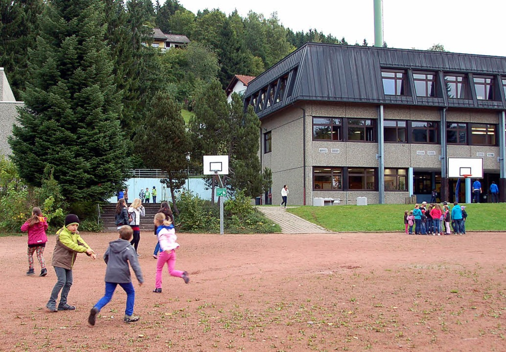 Eine Gemeinschaftsschule an der Sommer... der Fläche des Sportplatzes in Frage.  | Foto: Horst A. Böss