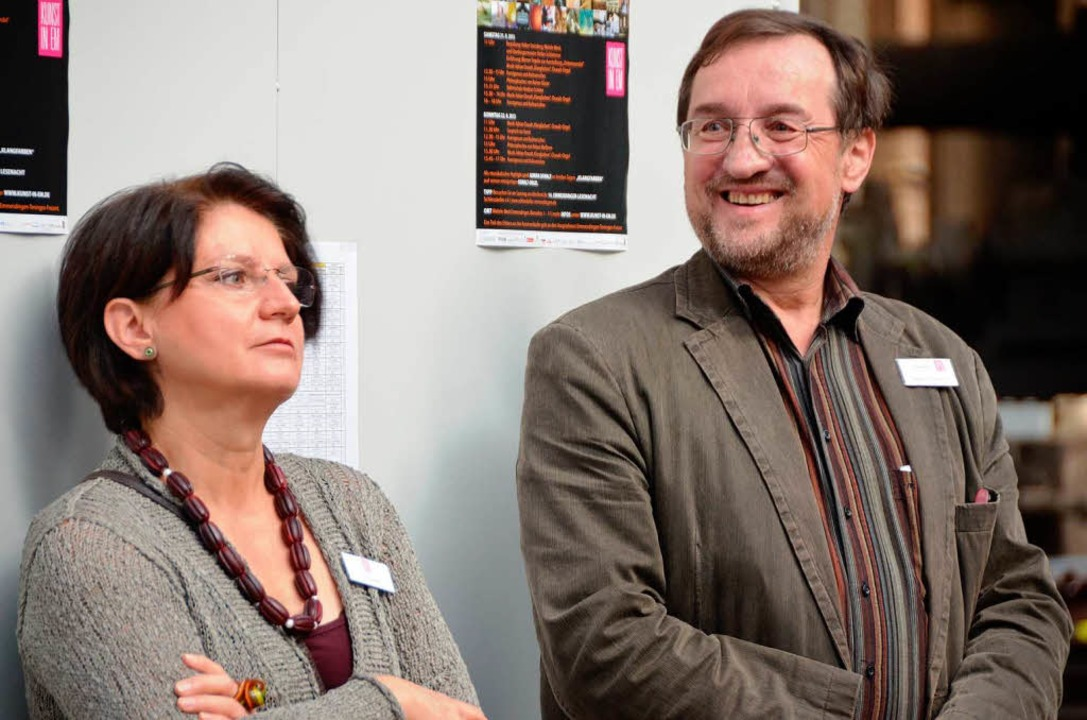 Alles gut gelaufen! Ein ganz entspannt...er freut sich, neben ihm Lilli Röckle.    Foto: Sylvia-Karina Jahn