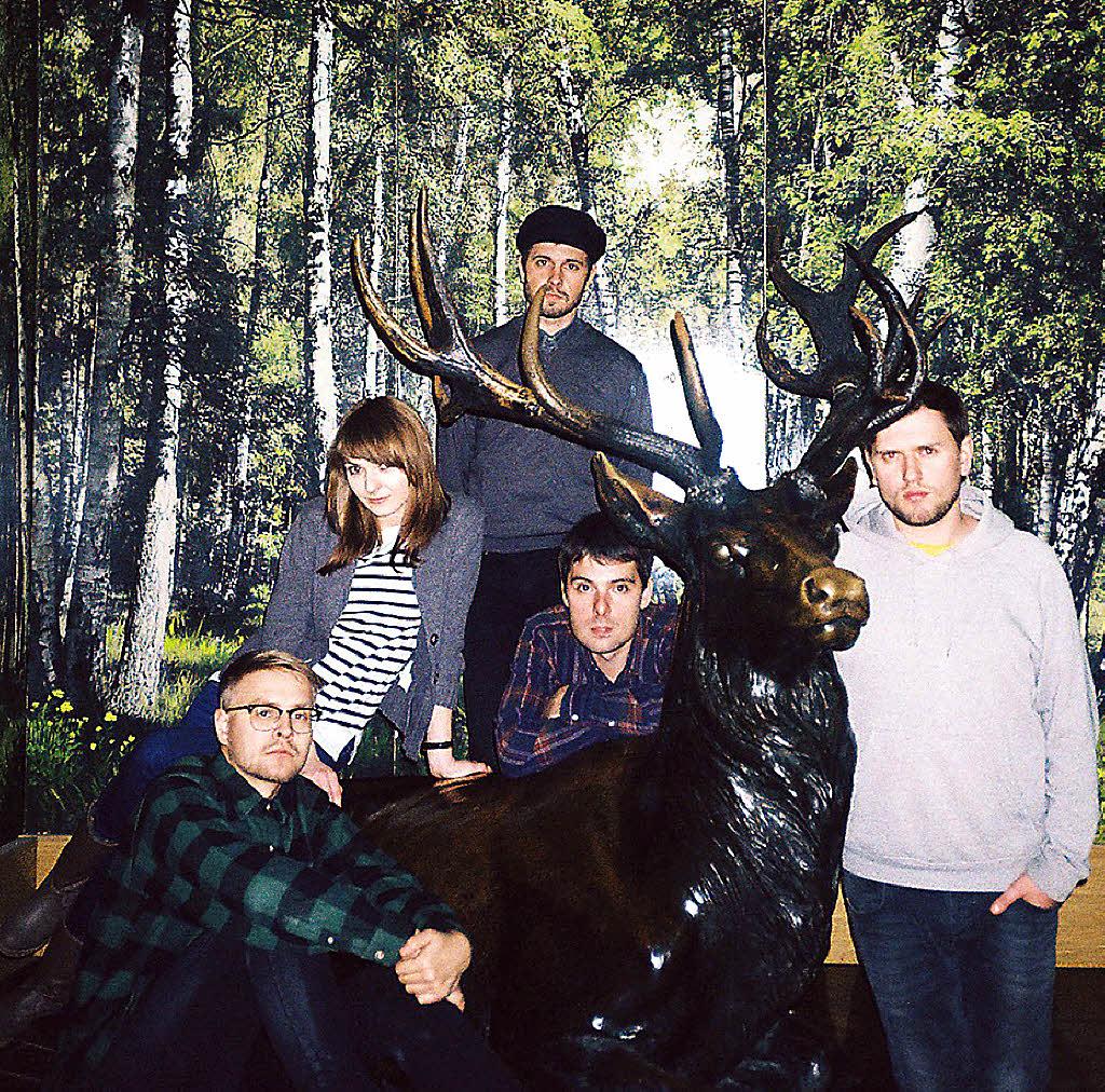 Motorama: indie-band aus russland spielt in der laiterie