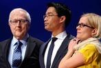 Fotos: Die Leiden der FDP am Wahlabend