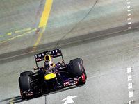 Fotos: Vettel gewinnt Formel-1-Nachtrennen in Singapur