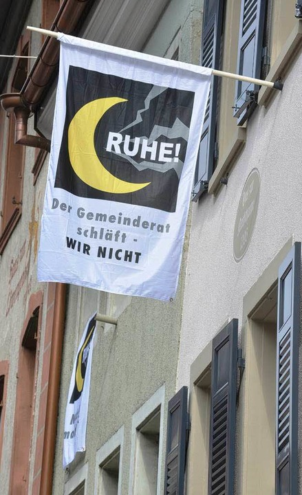 Bewohner in der Freiburger Altstadt  | Foto: Michael Bamberger