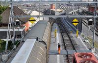 Rangierbahnhof Basel I f�r 160 Millionen Franken umfassend modernisiert
