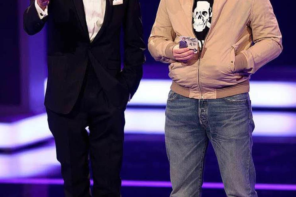 """Die Kabarettisten Max Giermann als """"Tatort""""-Professor Boerne (links) und Martin Klempnow als Kommissar Thiel. (Foto: dpa)"""