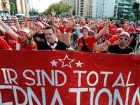 Fotos: Der SC Freiburg in Sevilla – Bilder vor dem Spiel