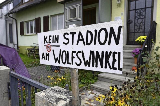 Stadionneubau am Wolfswinkel: harsche Vorwürfe gegen die Stadt