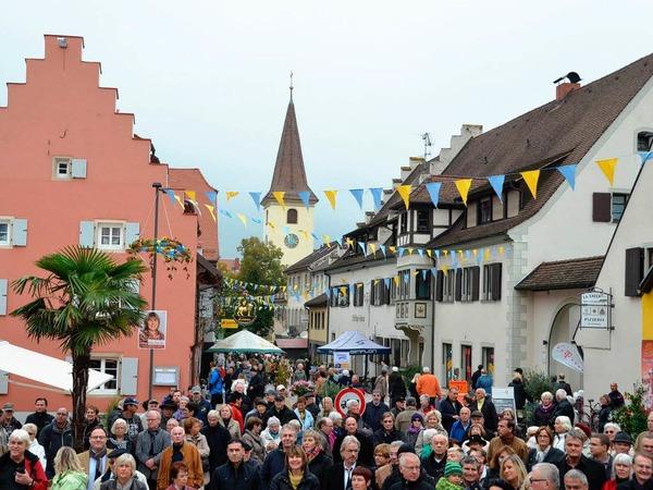 Oktoberfest mit Straßeneinweihung in Bad Krozingen