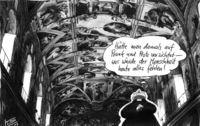 Bischof Tebartz-van Elst in der Sixtinischen Kapelle in Rom