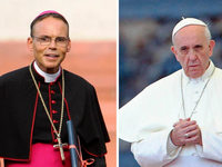 Papst Franziskus empfängt umstrittenen Limburger Bischof