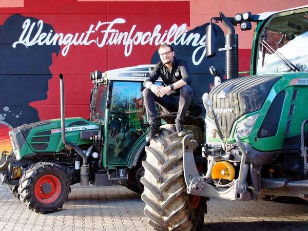 Stefan Fünfschilling steht auf große Traktoren.