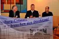 Initiative fordert Bahnverbindung �ber den Rhein ins Elsass
