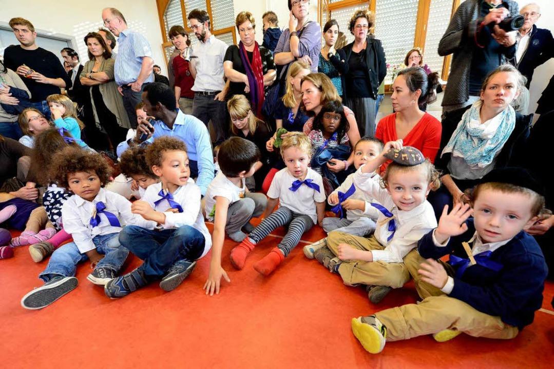 Die jüdische Kultur soll in der Kita Shalom deutlich sichtbar werden.  | Foto: Ingo Schneider