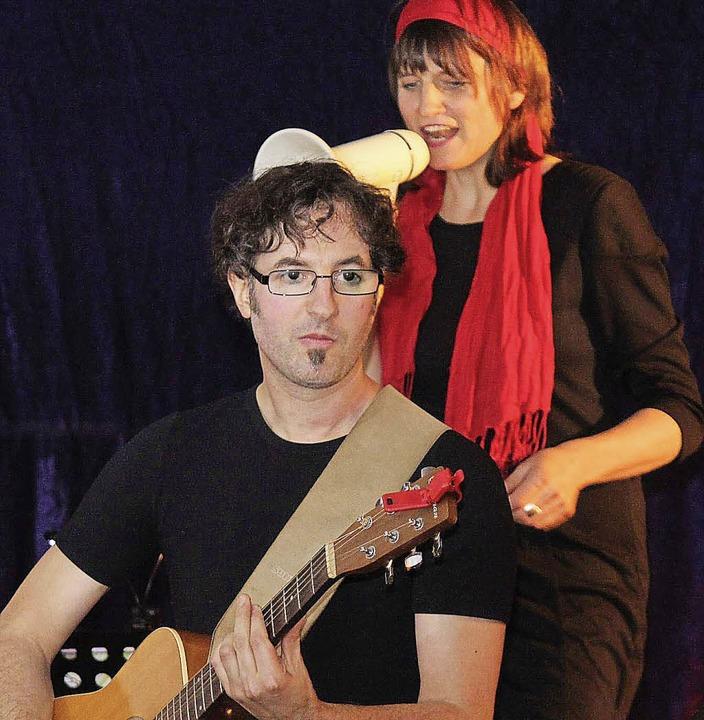 Petra Küfner und Ex-Eisenbacher Markus... deutsches Liedgut modern aufgemacht.     Foto: Gert Brichta